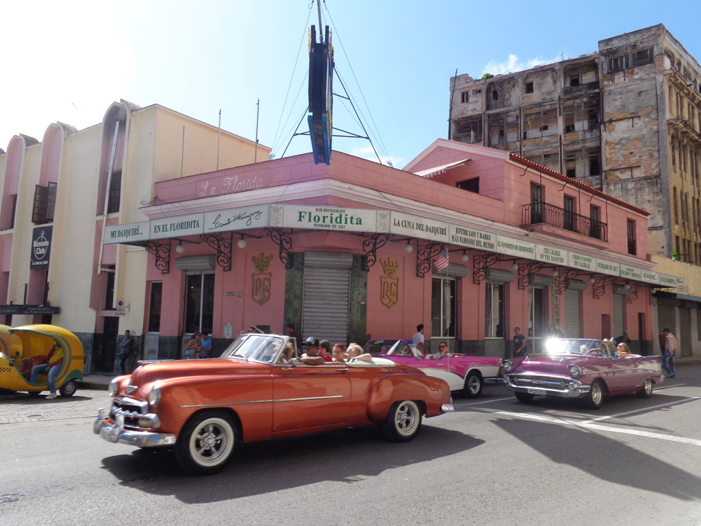 """Hemingways"" Floridita Bar in Havana"